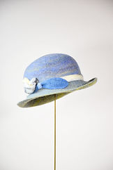 沖を照らす光 St. Ives シャポーチホレーヌ鎌倉のフェルト帽子 レディース