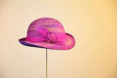 Anniversary シャポーチホレーヌ鎌倉のフェルト帽子 レディース ピンク