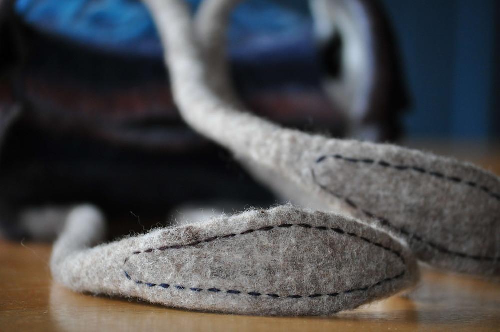 Chiholaine フェルトバッグの作り方 肩紐
