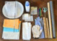 チホレーヌ 鎌倉 フェルト ワークショップ フェルトの道具