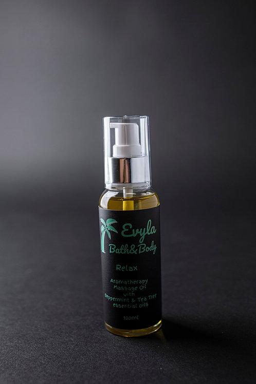 Relax Aromatherapy Massage Oil