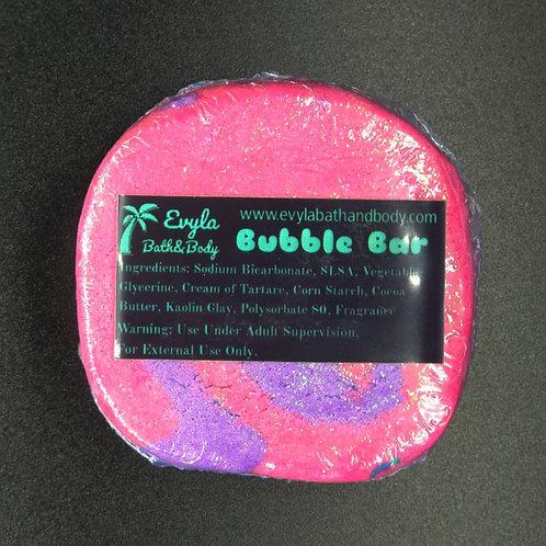 Pink Swirl Bubble Bar
