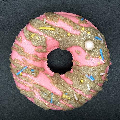 Strawberry Choc Donut Bath Bomb