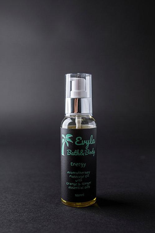 Energy Aromatherapy Massage Oil