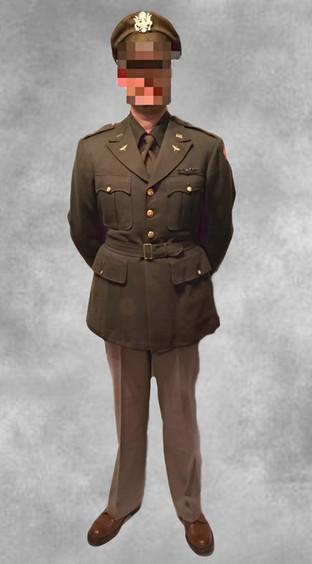 Uniforme d'officier américain 1944