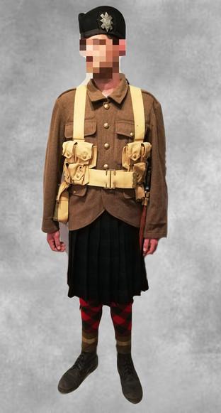 Soldat ecossais 1914