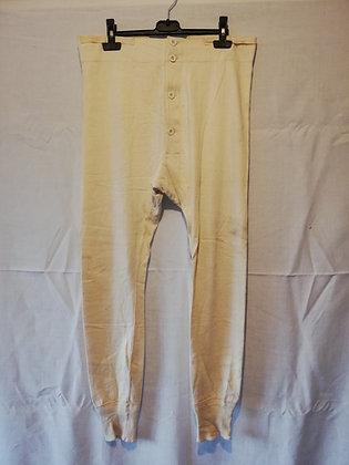 Caleçon long blanc