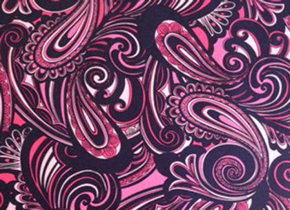 Hot Pink Paisley