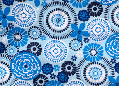 Light Blue Pinwheel