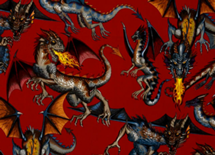 Dragons Fire Red