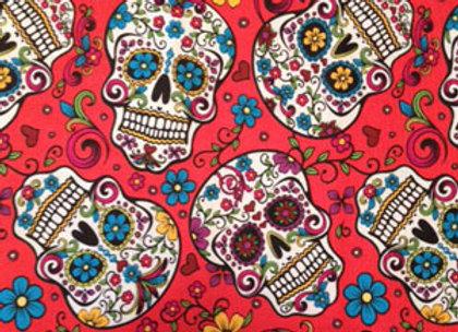 Sugar Skulls Red