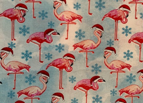 Frosty Flamingoes