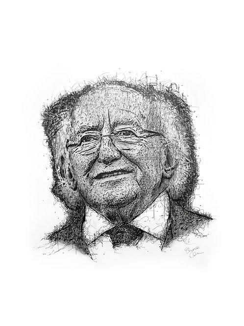 Samhlaíocht - A Portrait of Our President