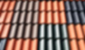 Metal tile roofing material