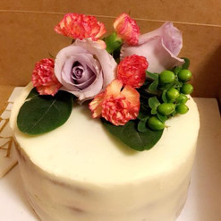 Traditional Naked Cake