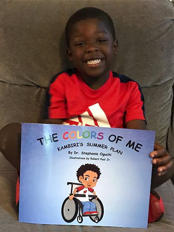 This little cutie loved Kambiri's story!