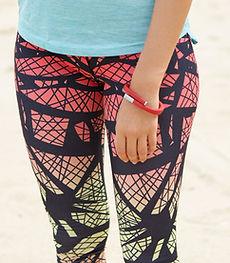 Leggings on the Beach