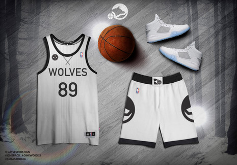 T-WOLVES REDESIGN