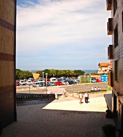 Vistas desde los apartamentos