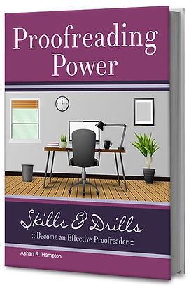 proofreading power skills book
