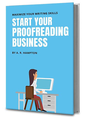 proofreading home business book
