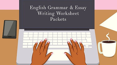 english worksheet packets