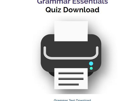 Grammar Quiz Download