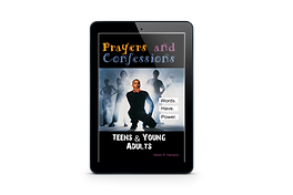 prayer confessions for teens book