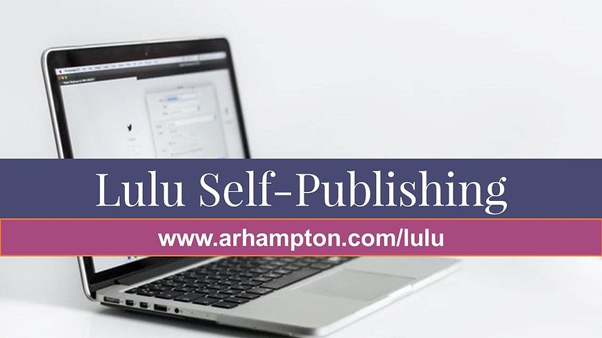lulu self publishing 2021
