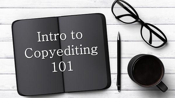 intro to copyediting 101