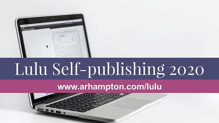 lulu self-publishing 2020