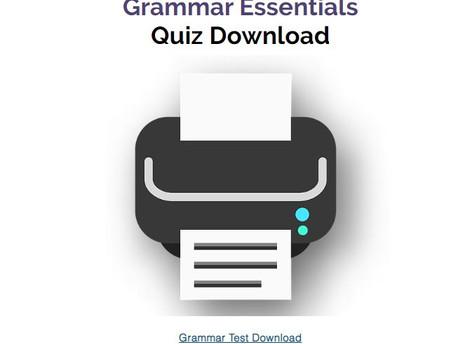 Grammar Quiz Download
