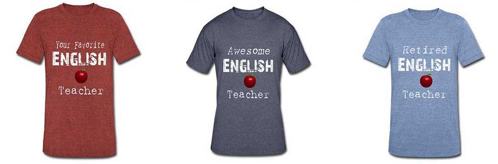 awesome english teacher shirts