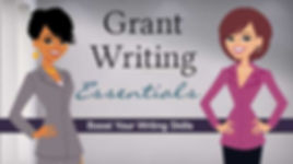 grant writing class online