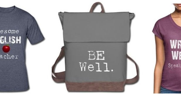 merch for writers