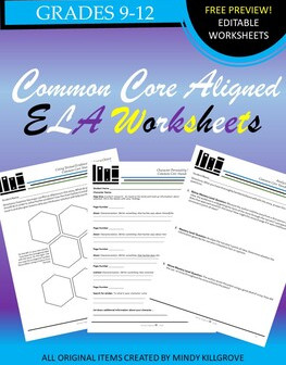 Free K-12 ELA Worksheets and Printables #6
