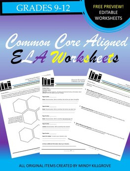 Free K-12 ELA Worksheets and Printables #6