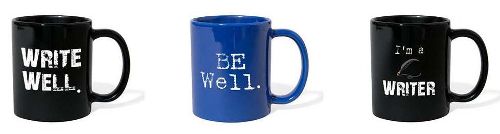 coffee mugs for writers