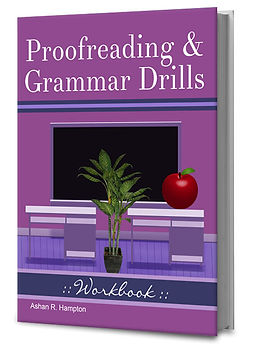 proofreading and grammar book