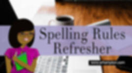 spelling rules refresher class online