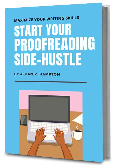 start your proofreading side-hustle book