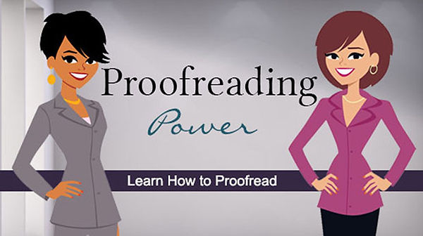 proofreading power online class