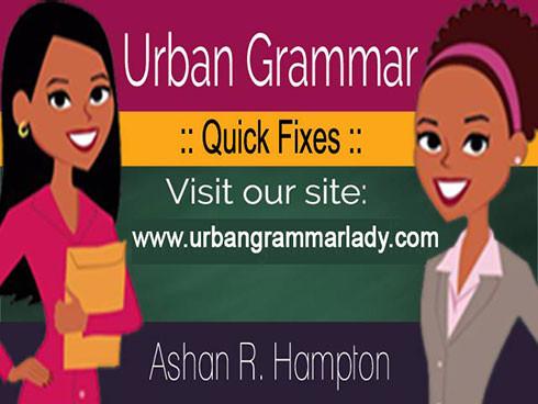 urban grammar quick fixes book