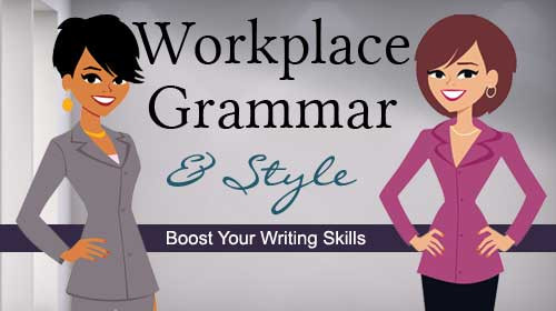 Workplace Grammar and Style Online Class