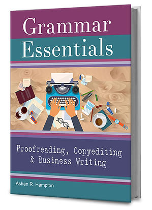Grammar Essentials for Proofreading, Copyediting & Business Writing grammar book