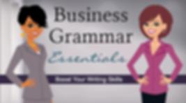 business grammar essentials class