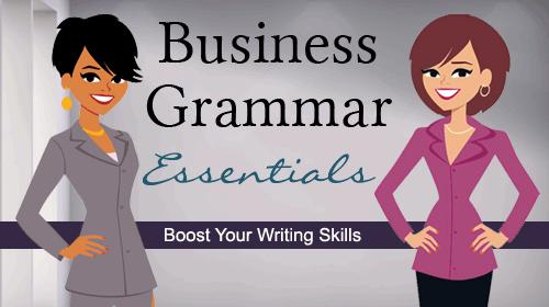 Business Grammar Essentials Online Class