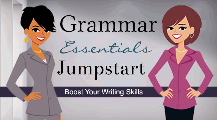 Grammar Essentials Jumpstart Online Class