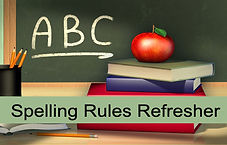 rules of spelling, spelling rules, english spelling rules, basic spelling rules, spelling rules for plurals, writing, writing courses, online writing tutorials, writing classes online, online courses