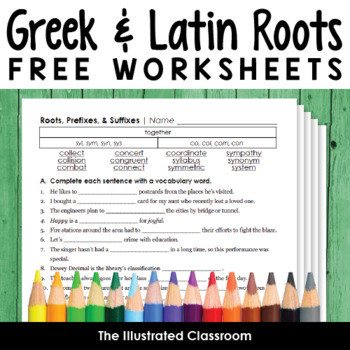 Free K-12 ELA Worksheets and Printables #9 blog post